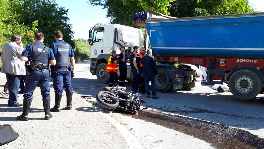 motard-tue-camion-metz-today