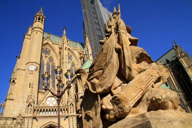 Metz : la cathédrale Saint-Etienne